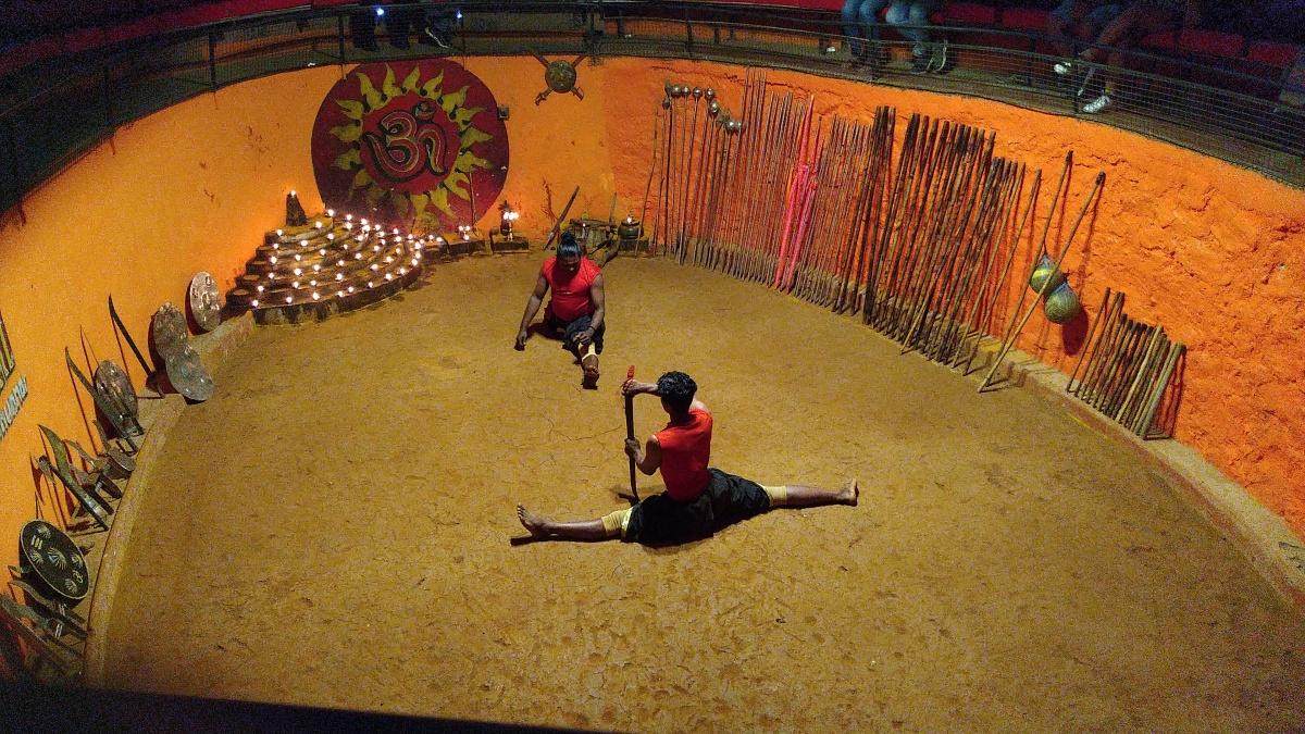 Kerala Trip- Kalaripayattu marital artsstill